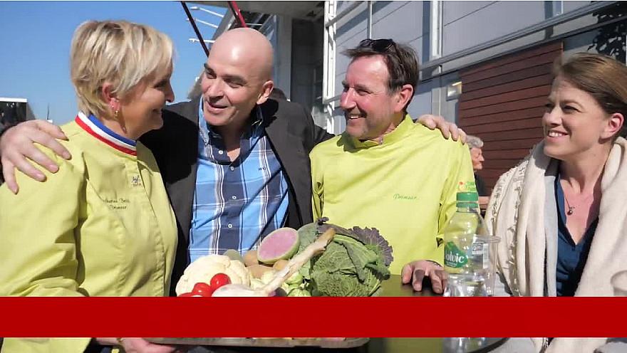 La famille Botti, l'excellence  et la bonne humeur !  @FruitsLegumesFR @Monprimeur @Agridemain