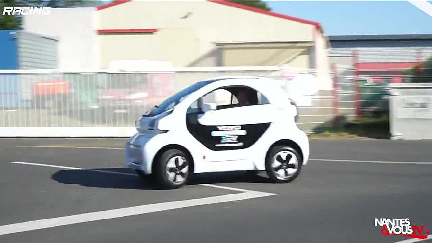 TV Locale Nantes & Vous sur Smartrezo :  La YOYO - Première voiture éléctrique imprimée en 3D
