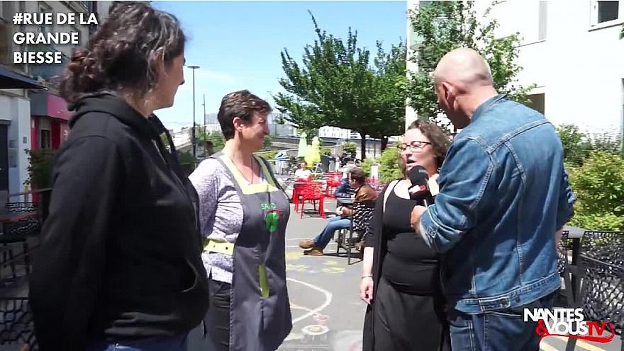 Nantes & Vous TV - Découvrez la rue de la Grande Biesse avec l'UNACOD