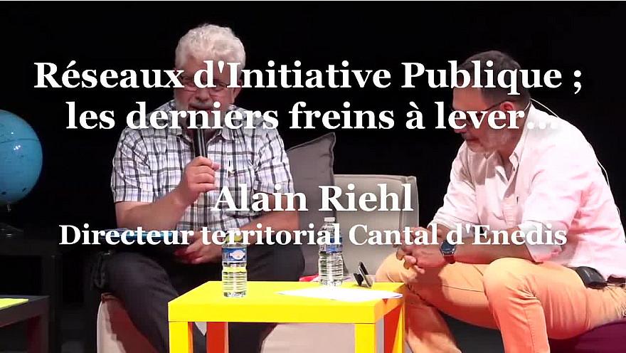 Alain Riehl, Directeur territorial Cantal d'Enedis à RuraliTIC 2020 @enedis @MTN_cote #Ruralitic2020 @cantalauvergne