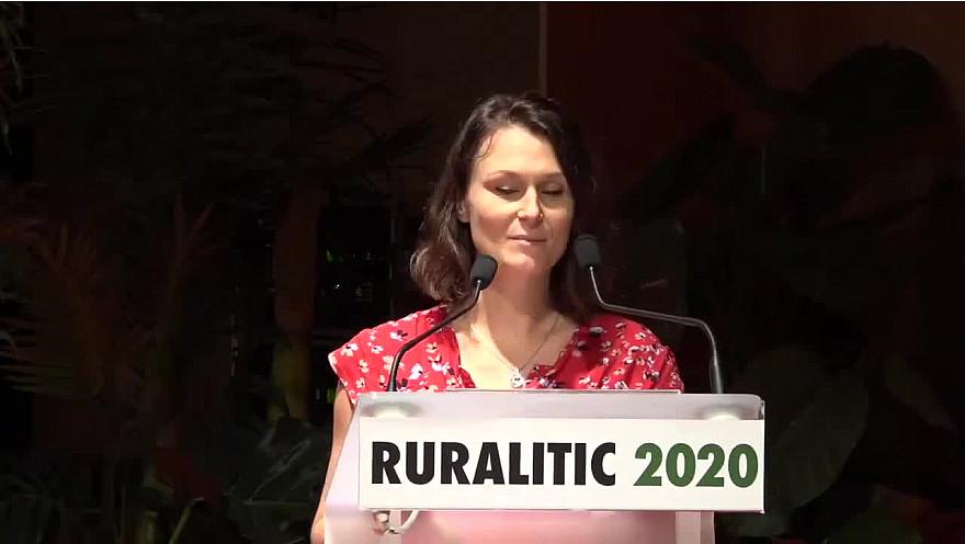 Juliette Jarry, vice-présidente de la Région Auvergne-Rhône-Alpes déléguée aux infrastructures et à l'économie numériques à Ruralitic 2020 @cantalauvergne @juliette_jarry @auvergnerhalpes @MTN_cote @brunofaure @laurentwauquiez #Ruralitic2020