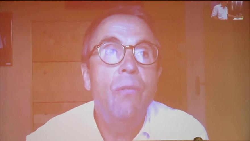 Pierre Traineau, Directeur général de Catel Télémédecine à Ruralitic 2020 @cantalauvergne @auvergnerhalpes @MTN_cote  #Ruralitic2020 @brunofaure @PierreTRAINEAU @CatelReseau