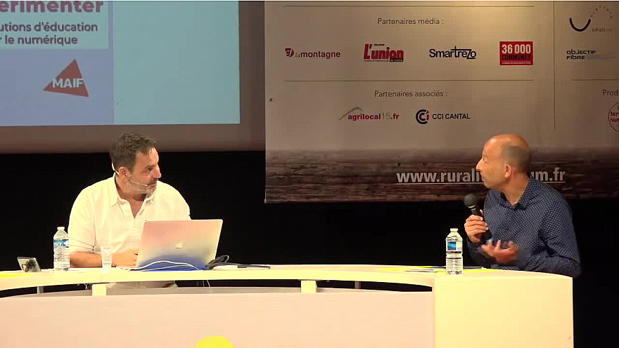 Christophe Cessac, mandataire du conseil d'administration à Ruralitic 2020 MAIF #Ruralitic2020 @MTN_cote @MAIF @CCessac