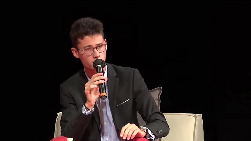 Jeunesse : le plus jeune maire de France  Hugo Biolley, Maire de Vinzieux à Ruralitic 2020  @cantalauvergne @MTN_cote @UnisCiteAuRA @auvergnerhalpes