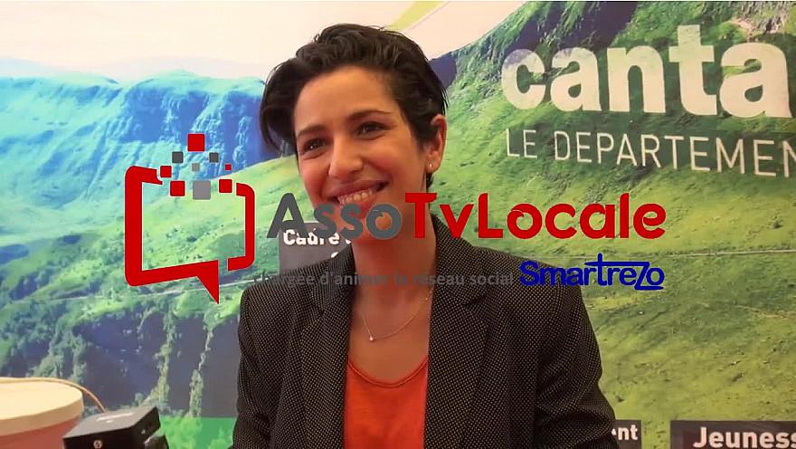 Sarah El Hairy, Secrétaire d'Etat chargée de le Jeunesse et de l'Engagement au micro de l'assoTvLocale à Ruralitic 2020 @sarahelhairy #Ruralitic2020