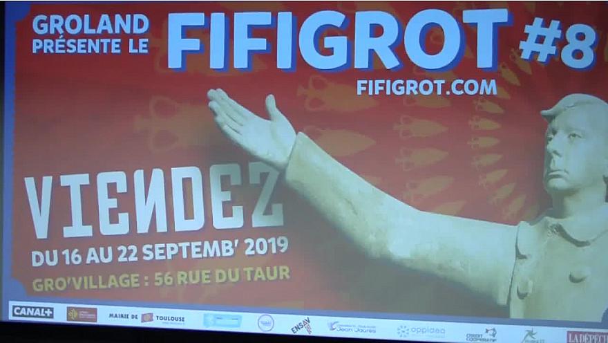 Dictateur, Jean Dujardin n'a pas décalé la Cérémonie de Clôture du Festival Fifigrot au cinéma l'ABC de Toulouse, en voici le résumé vidéo #Fifigrot #Groland #Dujardin #Banzaï