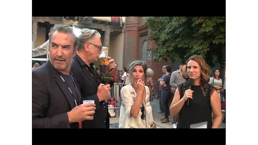 Toulouse :  Jean Dujardin, et Benoit Delépine pour le Fifigrot