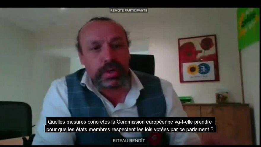 @BenoitBiteau, député européen / Commission AGRICULTURE & corporatisme agricole