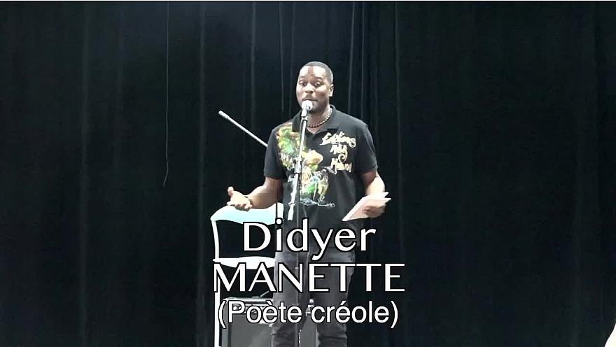 Déclaration d'amour en créole de Didyer Manette