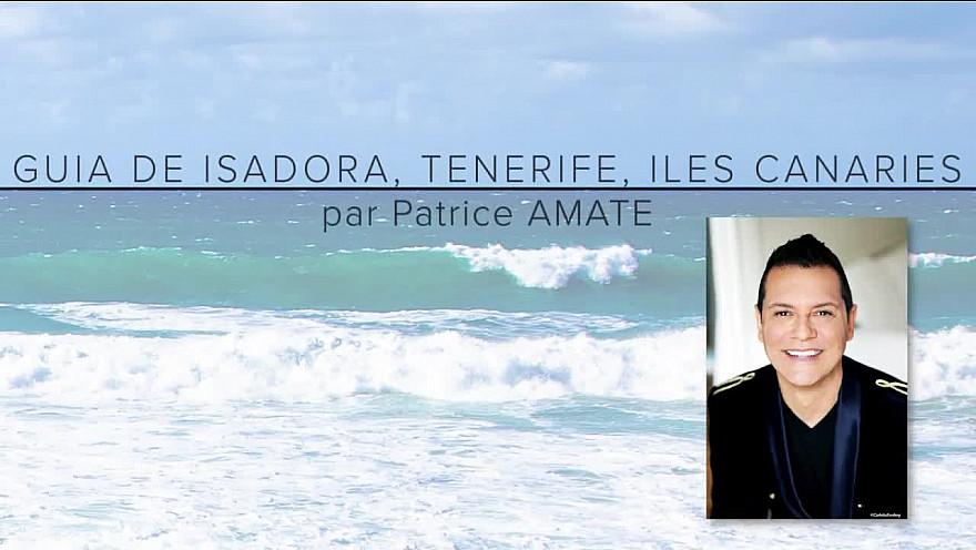 Carte postale des îles Canaries signée Patrice Amate