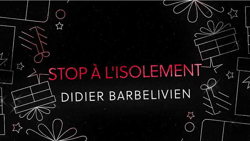 Didier Barbelivien souhaite un joyeux Noël @didierbarbeliv