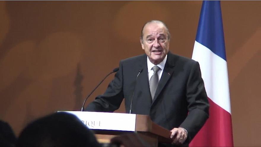 Jacques CHIRAC 'ma femme est un homme politique'
