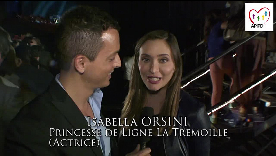 Drépaction 2014 au Zenith de Paris : La Princesse de l'APIPD Isabella Orsini de Ligne la Tremoïlle lutte contre la drépanocytose. #Drepanocytose @Drepaction