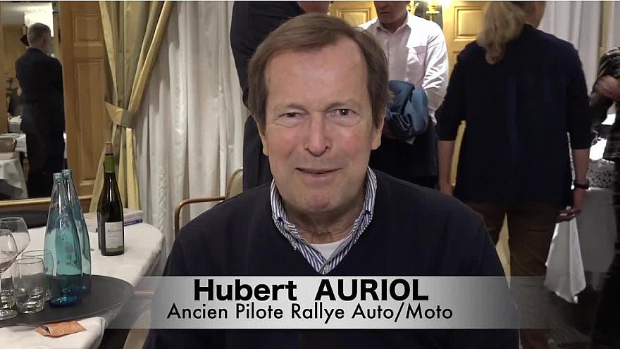 Interview d'Hubert AURIOL pour la sortie de son livre 'Tout Droit Sur Piste Principale'