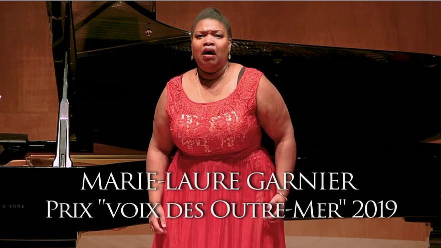 Marie-Laure GARNIER Lauréate du concours lyrique des 'Voix des Outre-mer', nommée aux victoires de la musique classique 2021. #VoixDesOutreMer