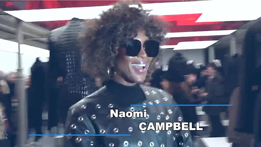 Naomi Campbell, top modèle internationale, belle... mais rebelle!
