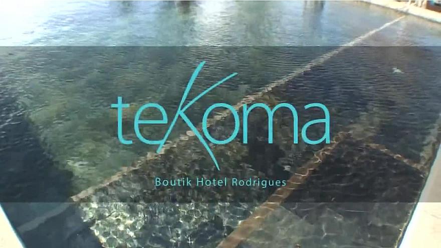 LE LUXE PIEDS NUS à L'île Rodrigues de la République de l'île Maurice dans l'Océan Indien : TEKOMA Boutik, un hôtel 4 étoiles !