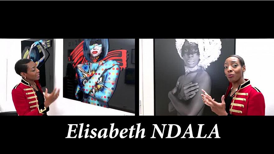 Elisabeth NDALA est 'TOTALLY MEGALO' ! @BABsGalerie