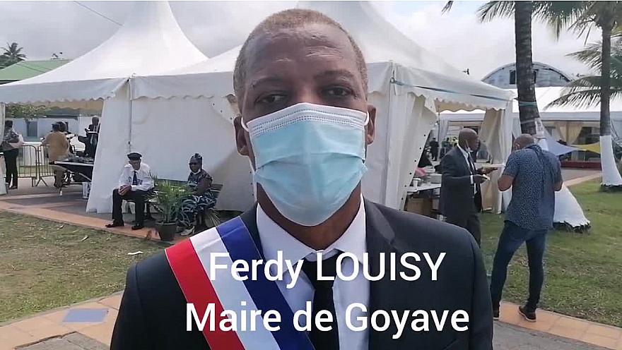 1 Elu 1 Minute : Ferdy LOUISY Maire de la commune de Goyave en Guadeloupe.