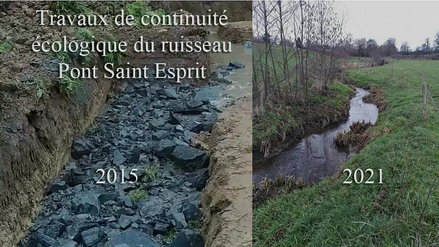 Approche Rurale Smartrezo : Continuité écologique du ruisseau Pont Saint Esprit.
