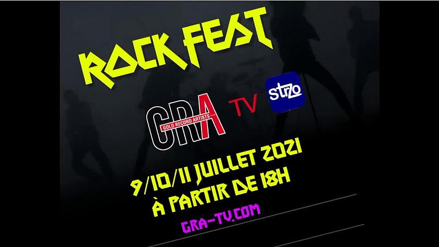 Rock fest GRA 9-10-11 Juillet 2021