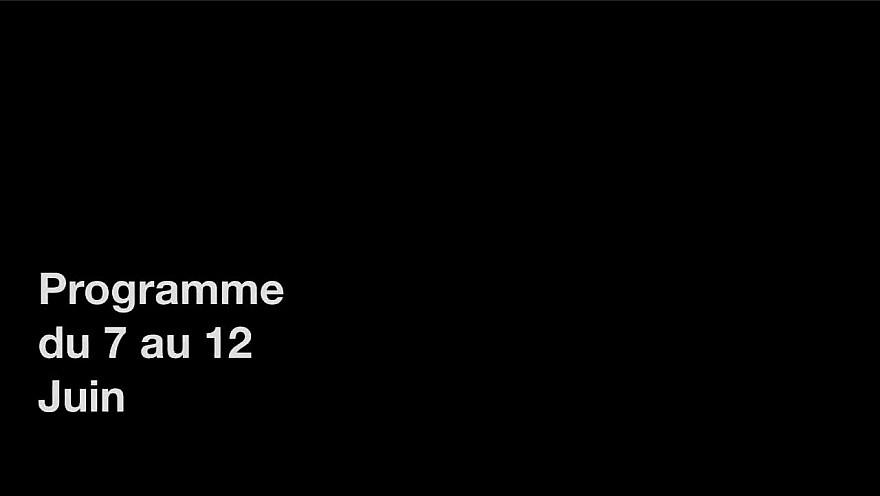 programme PRIME du 7 au 12 juin 2021