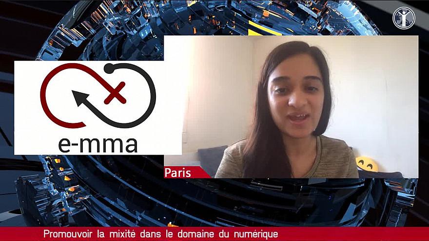 Tv locale Paris : Dipty Chander ' Emma est une association pour les jeunes filles'