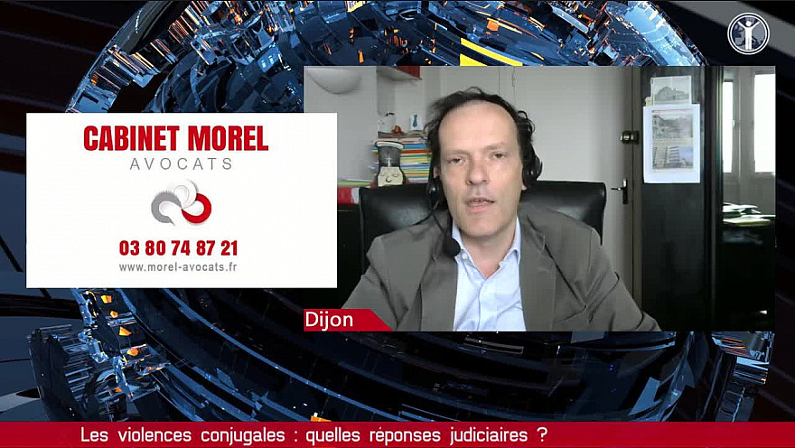 Tv Locale Dijon :  Jean-Philippe Morel 'Violences conjugales : à l'aube de 2022, on en sommes-nous ?