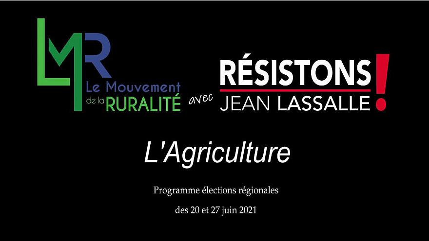 Régionales LMR avec Résistons! Jean Lassalle :  débat Agriculture & Elevage @EddiePuyjalon @LMR_NAquitaine @jeanlassalle